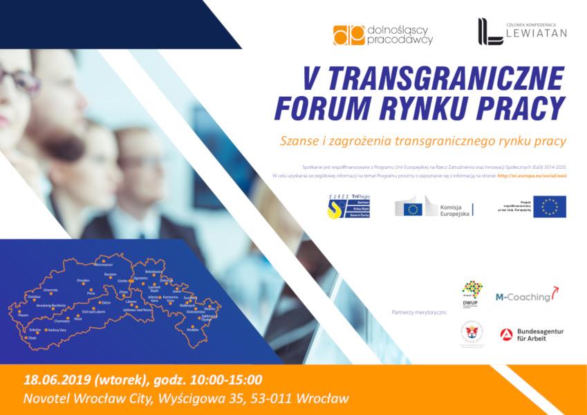 V Transgraniczne Forum Rynku Pracy - obrazki